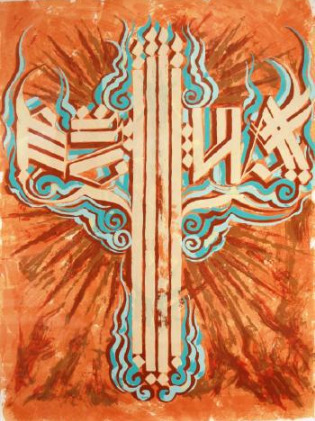 RETNA, 'Untitled', 2010, Hexagon Gallery