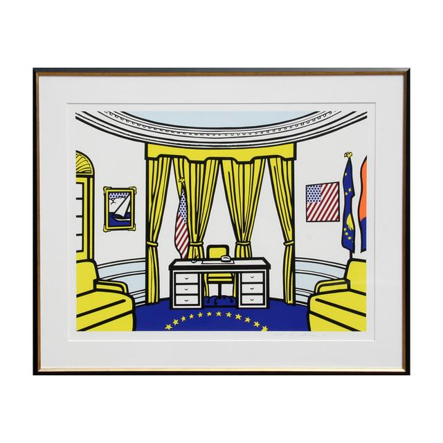 Roy Lichtenstein, 'The Oval Office (C. 277)', 1992, RoGallery