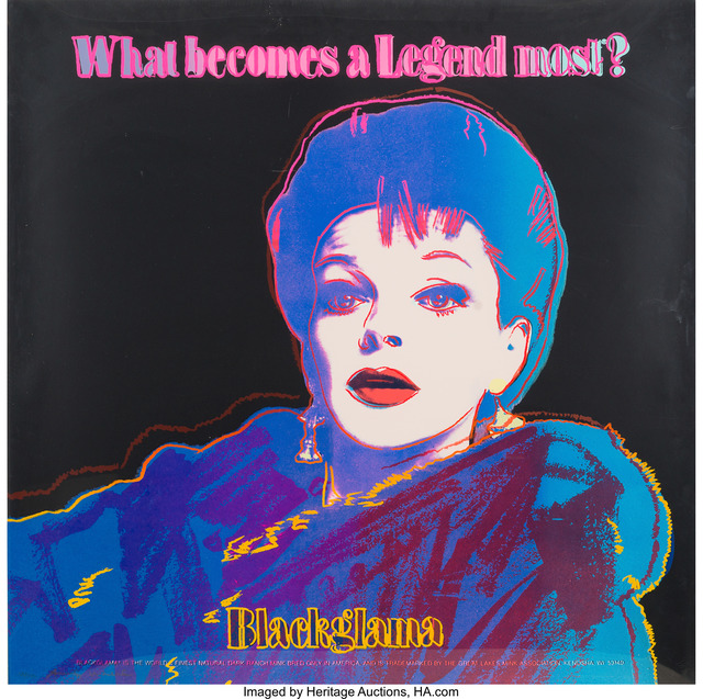 Andy Warhol, 'Blackglama (Judy Garland), from the Ads portfolio', 1985, Heritage Auctions
