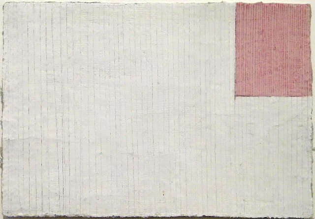 , 'White and Red- Striped ,' 2005, Howard Scott Gallery