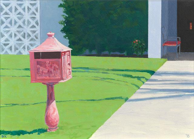 Bruce Kimerer, 'Pink Mailbox', 2016, Asher Grey Gallery