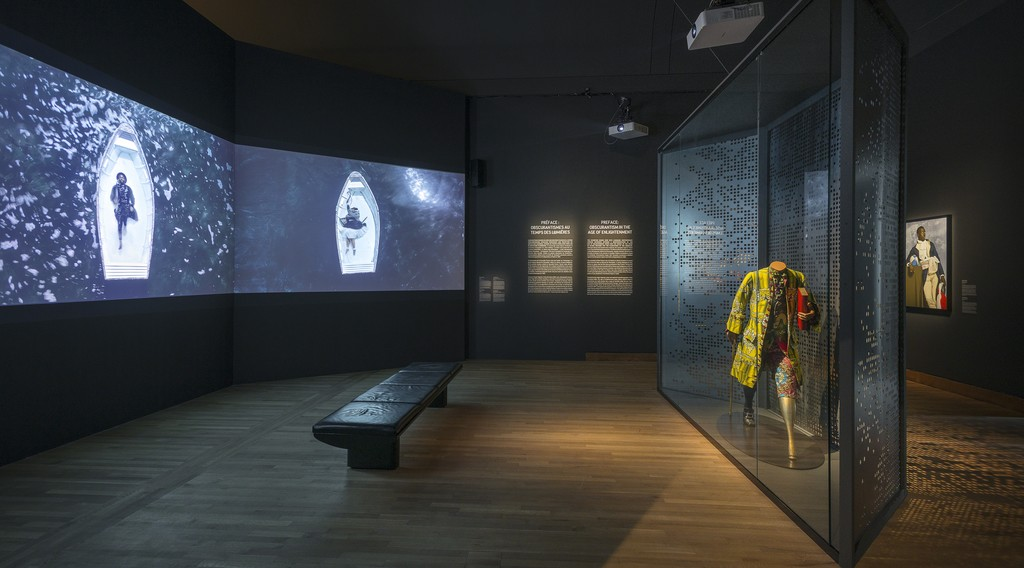 View of the exhibition From Africa to the Americas: Face-to-face Picasso, Past and Present. The Montreal Museum of Fine Arts, May 12 to September 16, 2018. Photo: MMFA, Denis Farley.