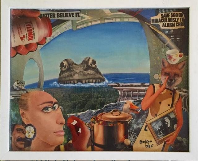 Konstantin Bokov, 'Untitled (Monster, Better believe it)', 20th Century, Lions Gallery