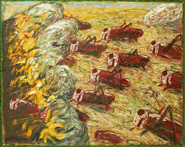 , 'Burning Fields,' , Stremmel Gallery