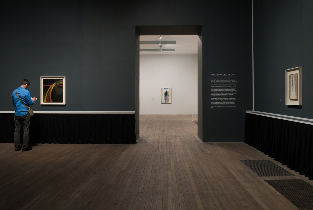 Installation shots from the Georgia O'Keeffe exhibition at Tate Modern, Photograph courtesy Tate Photography
