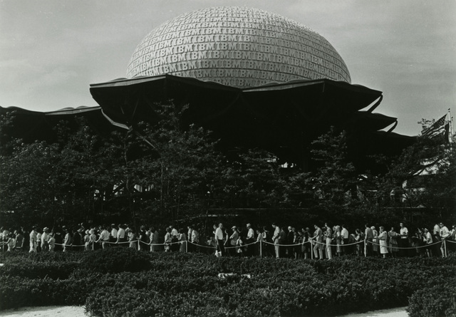 , 'New York World's Fair IBM Pavilion,' 1964, New York Historical Society
