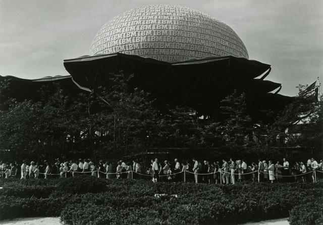 , 'New York World's Fair IBM Pavilion,' 1964, New York Historical Society