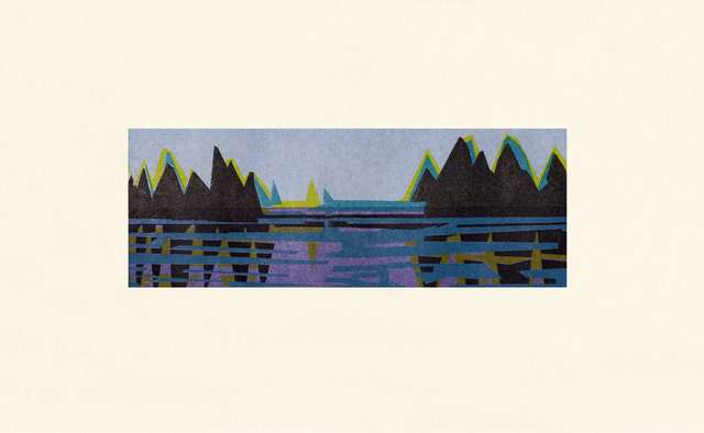 , 'Ensign,' 2009, Tandem Press