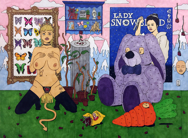 , 'Lady Snow Blood,' 2015, Myla Dalbesio
