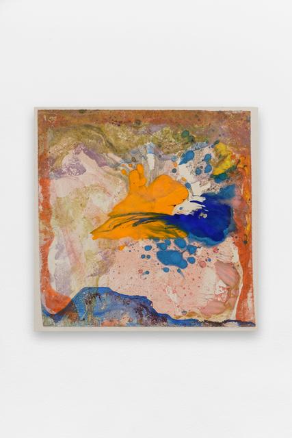 , 'Orange Blue Winter,' 2015, Gaudel de Stampa