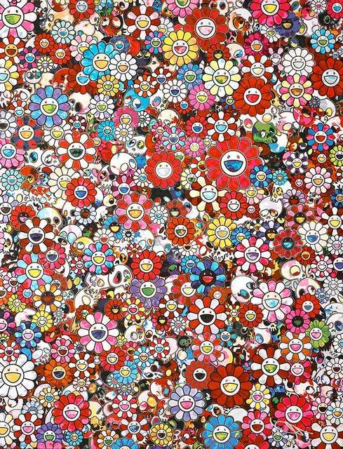 Takashi Murakami, 'Dazzling Circus: Embrace Peace and Darkness with Thy Heart', 2016, Lougher Contemporary