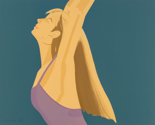 Alex Katz, 'Night: William Dunas Dance 1-4/Pamela (four works)', 1983, Heritage Auctions