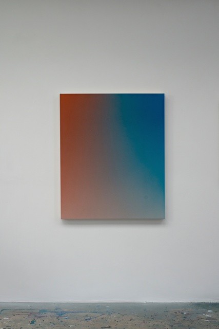 , 'Fade XXV (Orange Blue) OMS 482,,' 2014, Vigo Gallery