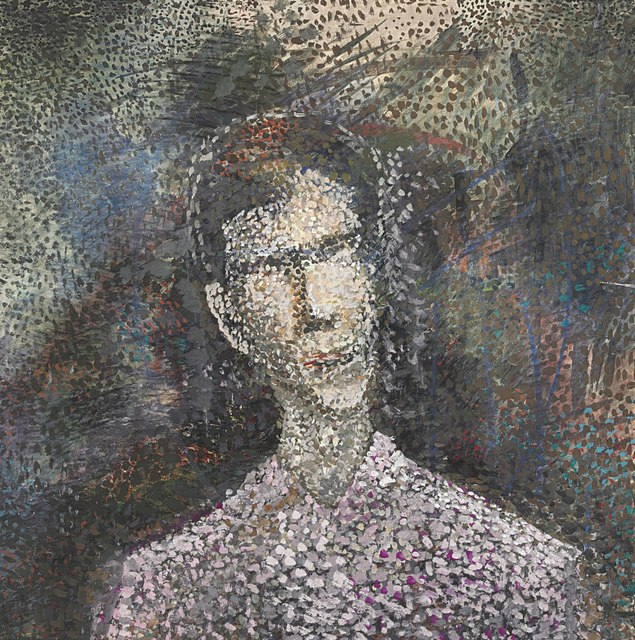 , 'Portrait of the artist's father as a young man,' ca. 1970, ART4