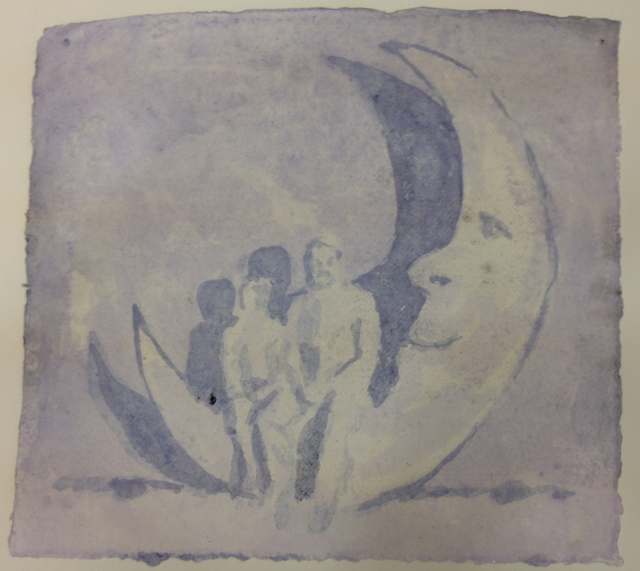 , 'Men in the Moon,' 2015, New Art Projects
