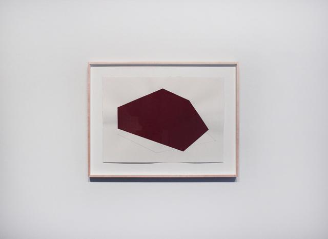 , 'Dibujo que no obedece al contorno No. 2,' 2015, Josée Bienvenu