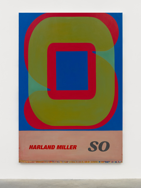 Harland Miller, 'SO', 2019, White Cube