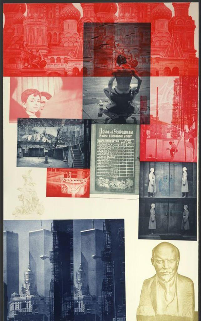 Robert Rauschenberg, 'Soviet / American Array l,' 1989, Zane Bennett Contemporary Art
