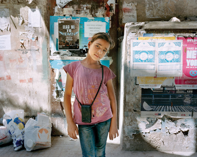 , 'Maya at 10, Beirut,' 2014, C. Grimaldis Gallery