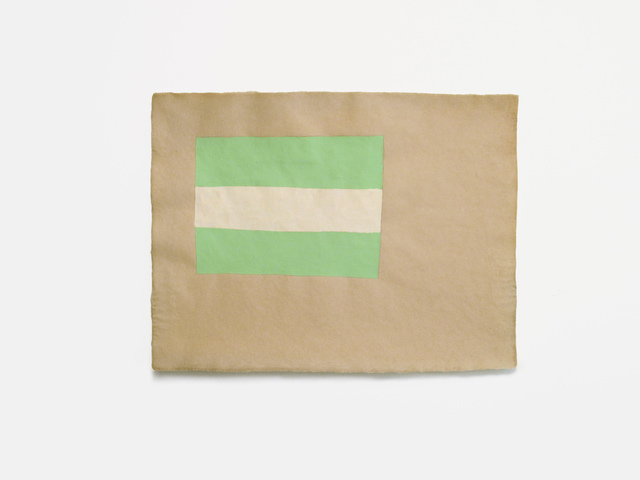 Cyrilla Mozenter, 'mint cream mint', 2016, Lesley Heller Gallery