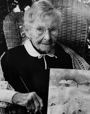 Bert Stern, 'Grandma Moses (Anna Mary Robertson Moses)', 1950, Staley-Wise Gallery