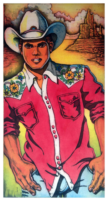 , 'Satuday Night Cowboy,' , Warnock Fine Arts