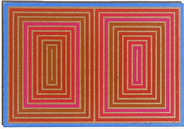 , 'Annual Edition (on Masonite),' 1973, Alpha 137 Gallery