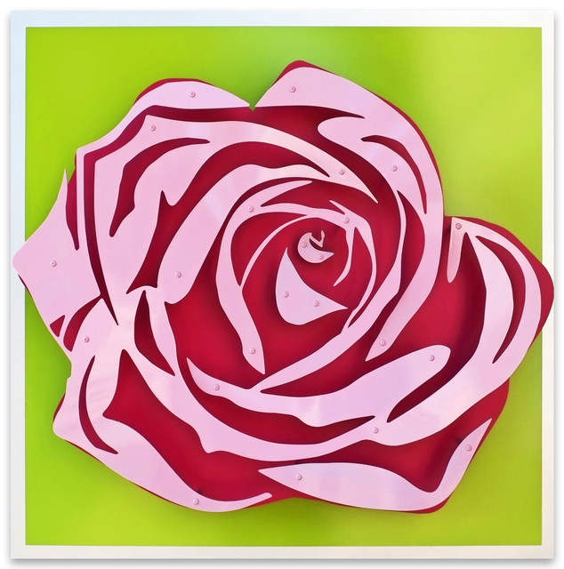 , 'Rose - Pink on Green,' , FP Contemporary