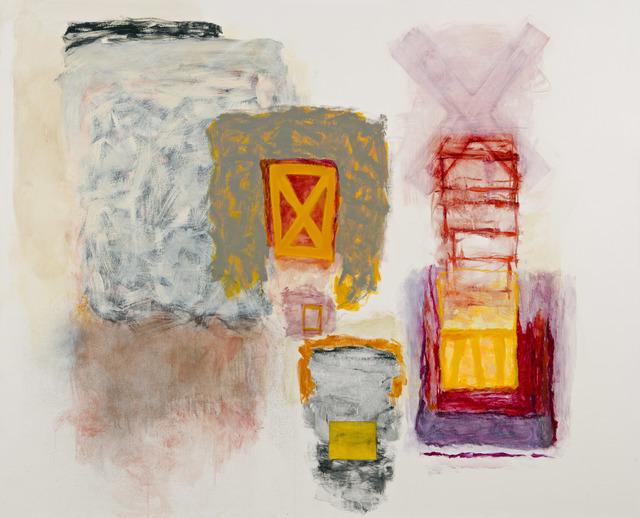 , 'Double X,' 2017, Kathryn Markel Fine Arts