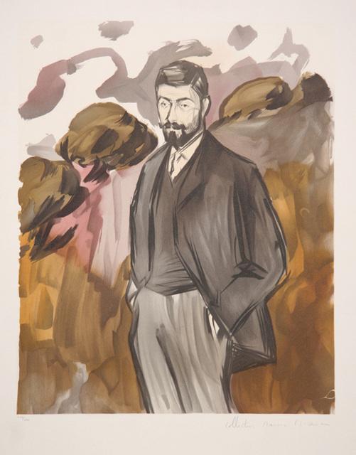 Pablo Picasso, 'Portrait d'un Homme Debout avec Barbiche, 1899', 1979-1982, RoGallery