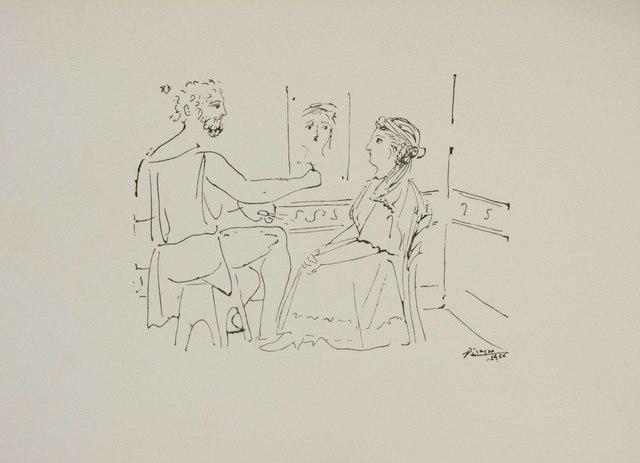Pablo Picasso, 'La Pose du Modele', ca. 1975, The Munn Collection