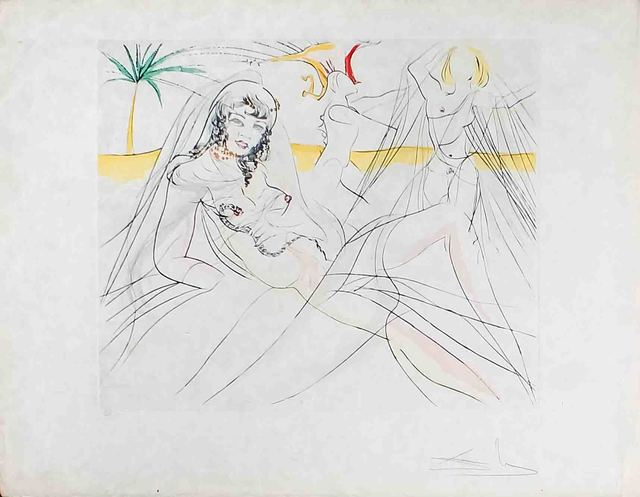 , 'Mort de Cleopatre,' 1975, Wallector