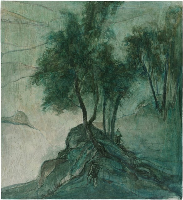 , 'Climbing in Autumn ,' 2016, Aye Gallery