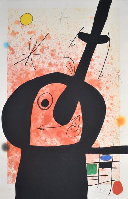 Joan Miró, 'The Great Thinker | Le penseur puissant', 1969, Gilden's Art Gallery