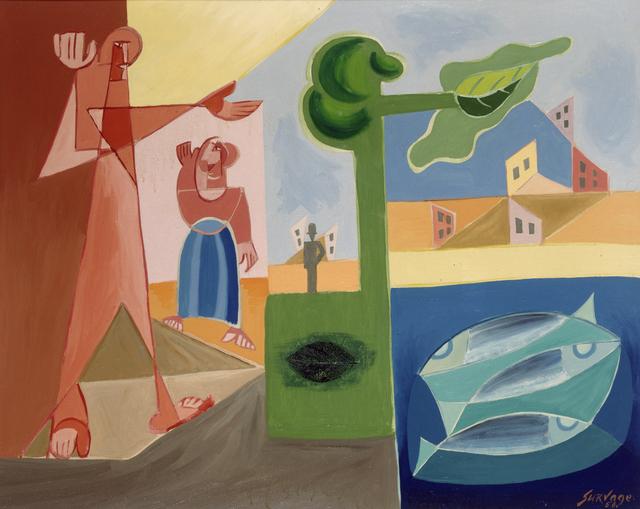 Leopold Survage, 'Les Présences', 1956, Whitford Fine Art