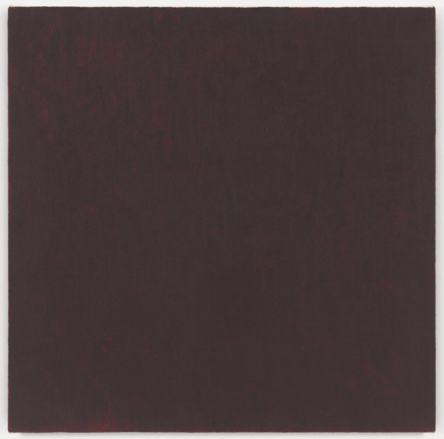 , 'Mass Tone Painting: Alizarin Crimson, Spring 1973,' 1973, Richard Taittinger Gallery