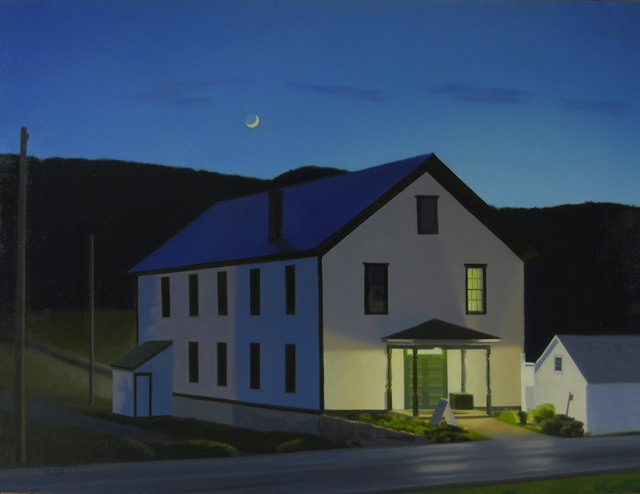 , 'Village Evening,' 2017, West Branch Gallery