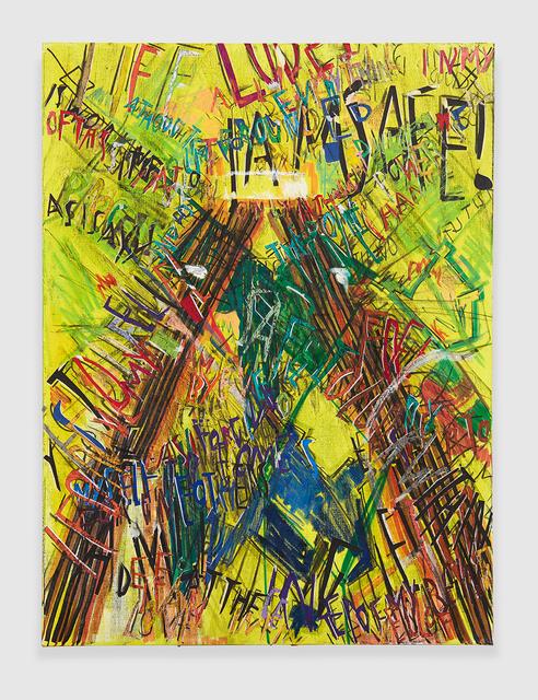 , 'RGB Affirmations (Yellow),' 2018, PRAZ-DELAVALLADE