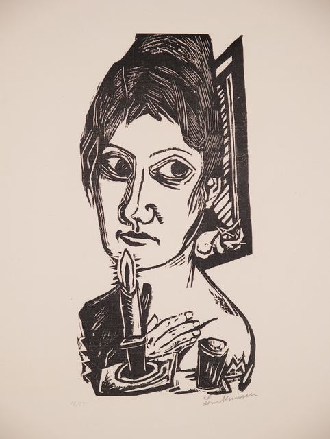 , 'Frau mit Kerze,' 1920, Henze & Ketterer