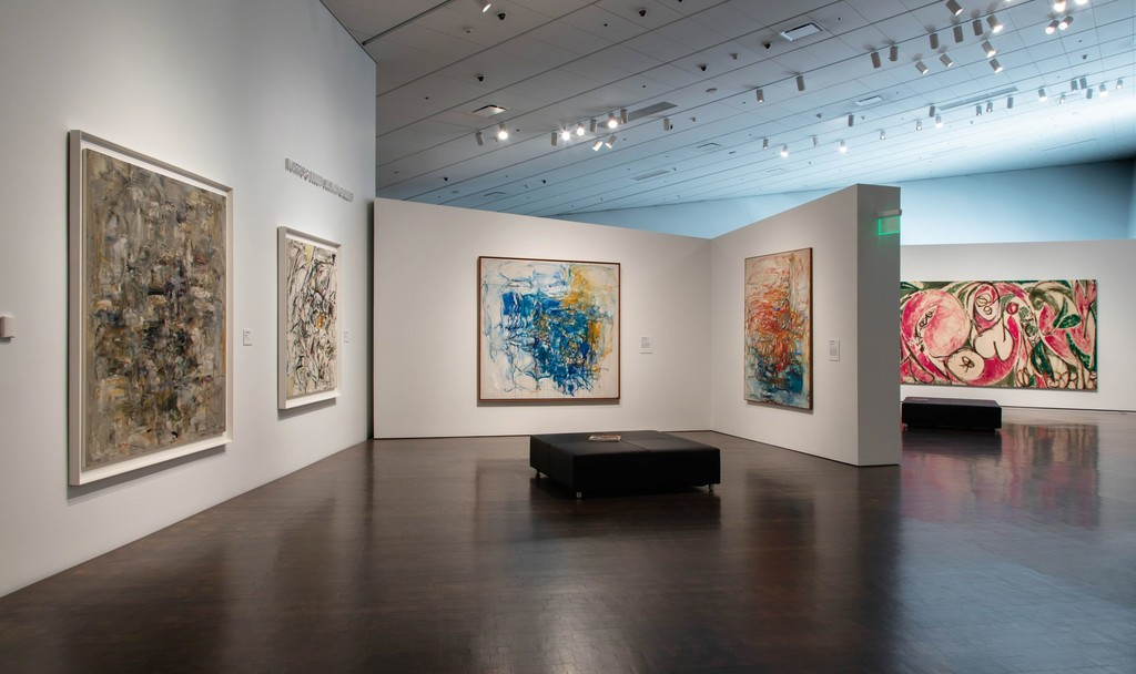 "Installation view of ""Women of Abstract Expressionism"" at Denver Art Museum, Denver (2016). Image courtesy of Denver Art Museum."