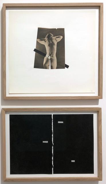 , 'Irréversible satisfaction fendue,' 2017, Galerie Les filles du calvaire