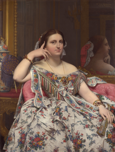 Jean-Auguste-Dominique Ingres, 'Madame Moitessier', 1856, The National Gallery, London