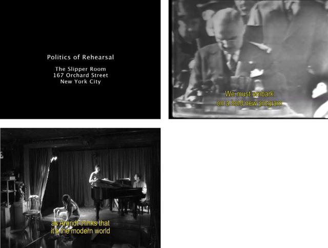 , 'Politics of Rehearsal,' 2005-2007, Museo de Arte Contemporáneo de Buenos Aires