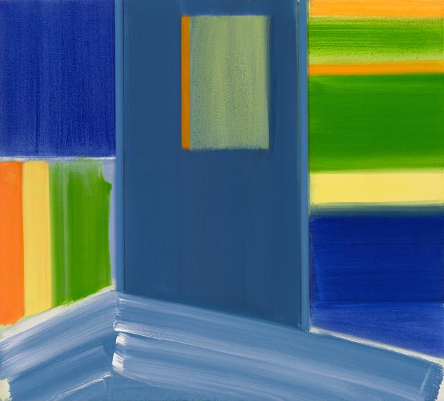 , 'Blue,' 2017, Locks Gallery