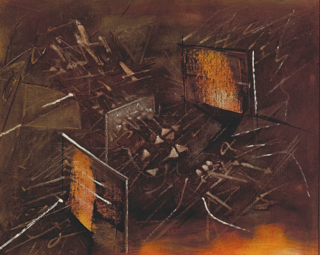 , 'La Demonstration ,' 1957, New River Fine Art