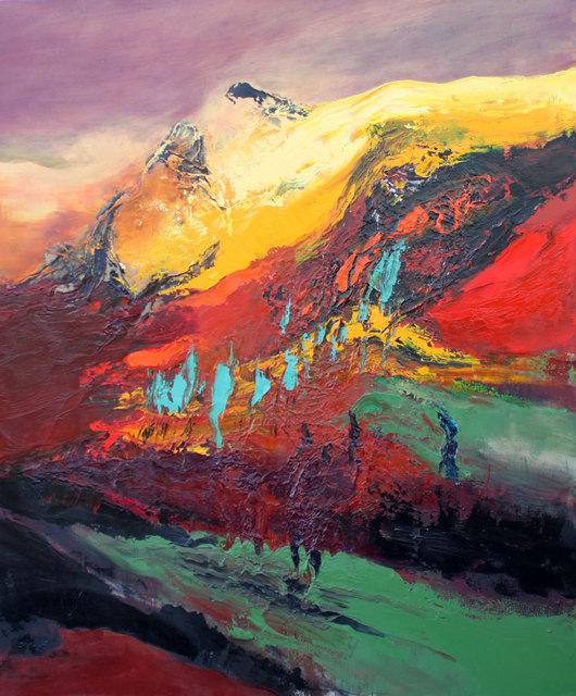 , 'The Sun's Warm Glow ,' 2015, Albemarle Gallery | Pontone Gallery
