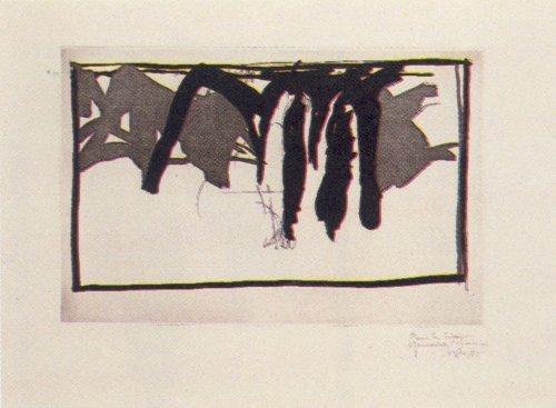 Joan Hernández Pijuan, 'Paisatge amb xiprers-I', 1985, Kunzt Gallery