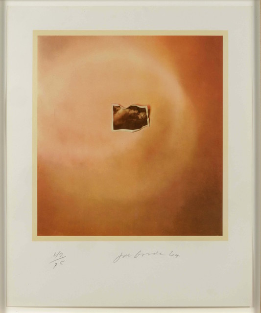 , 'Photo Cloud (Orange),' 1969, Leslie Sacks Gallery