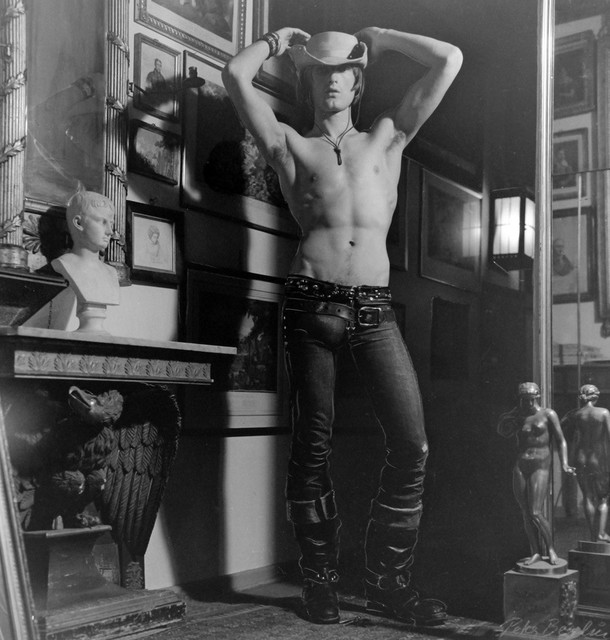 , 'Self Portrait as Urban Cowboy,' 1970s, ClampArt
