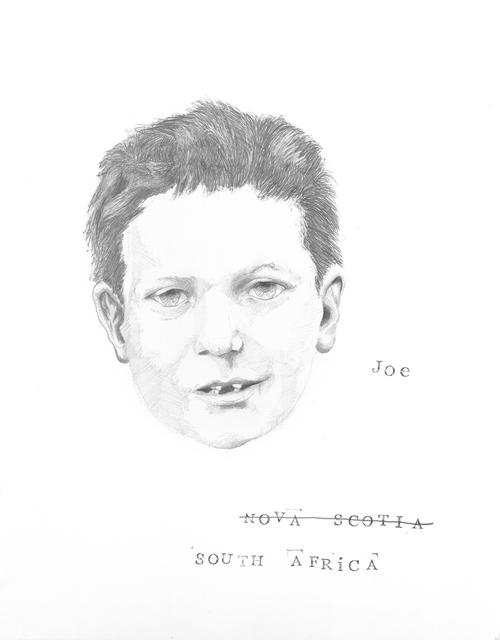 , 'Joe,' 2016, Maus Contemporary